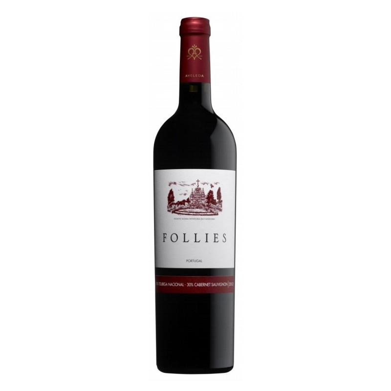 Follies Touriga Nacional and Cabernet Sauvignon 2012 Red Wine