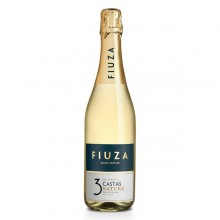 Fiuza 3 Castas Nature 2016 Sparkling White Wine