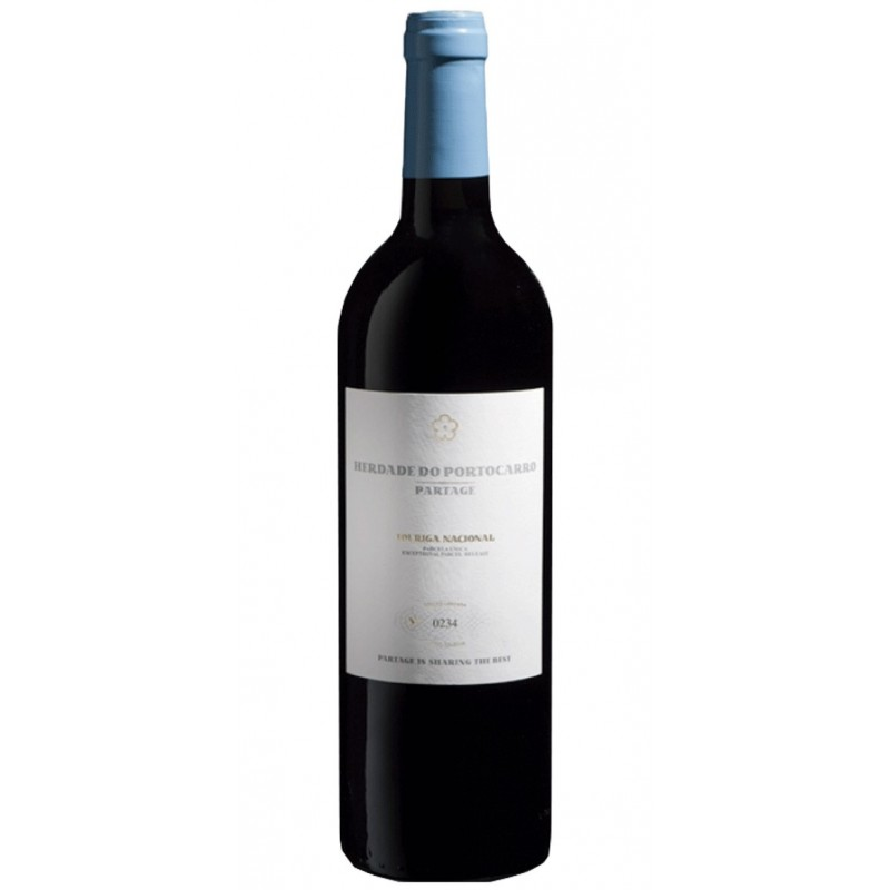 Herdade do Portocarro Partage Touriga Nacional 2012 Red Wine