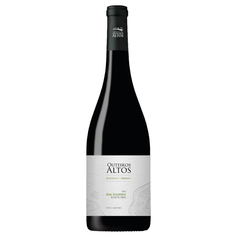 Outeiros Altos Sulfite Free 2017 Red Wine