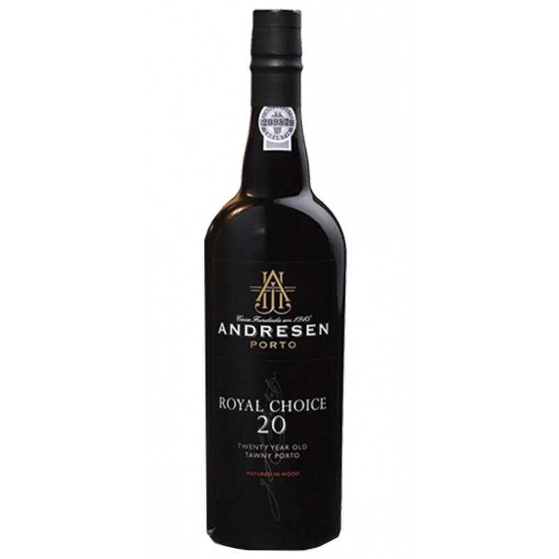 Andresen 20 Years Old Royal Choice Port Wine