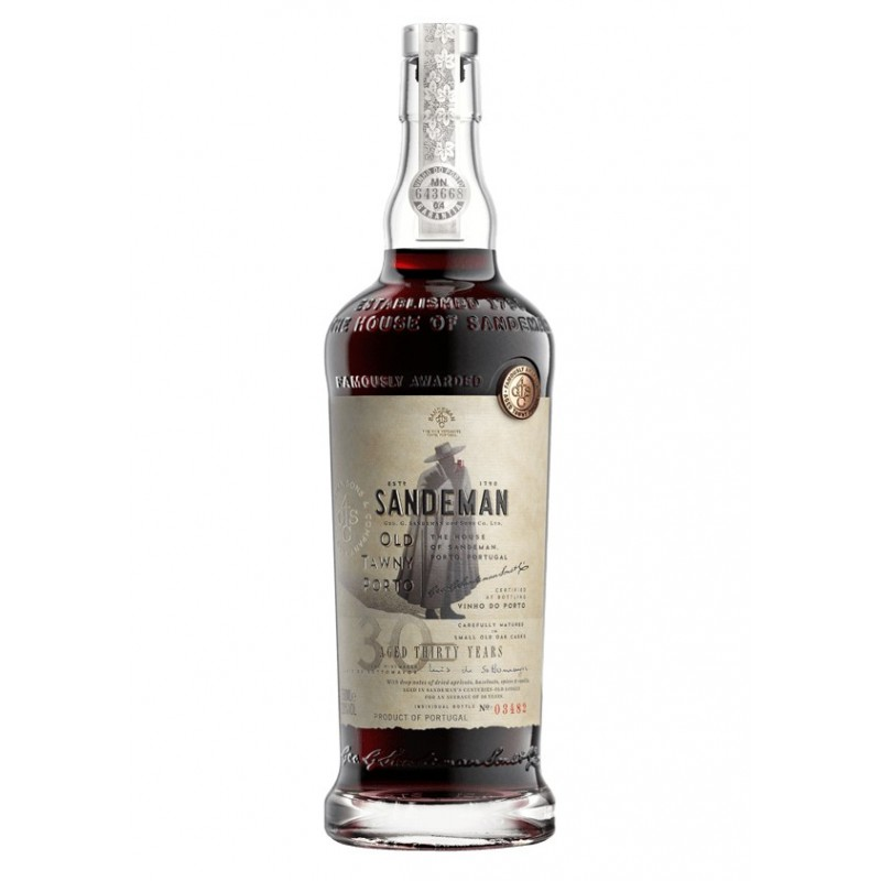 Sandeman Tawny 30 Years Old Port Wine (500ml)