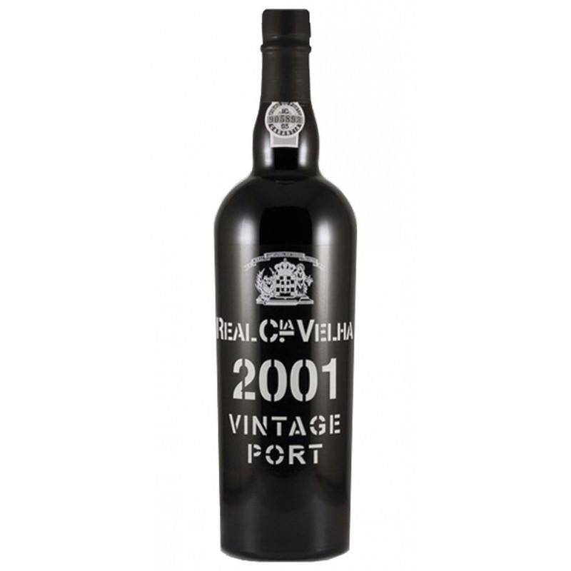 Real Companhia Velha Vintage 2001 Port Wine