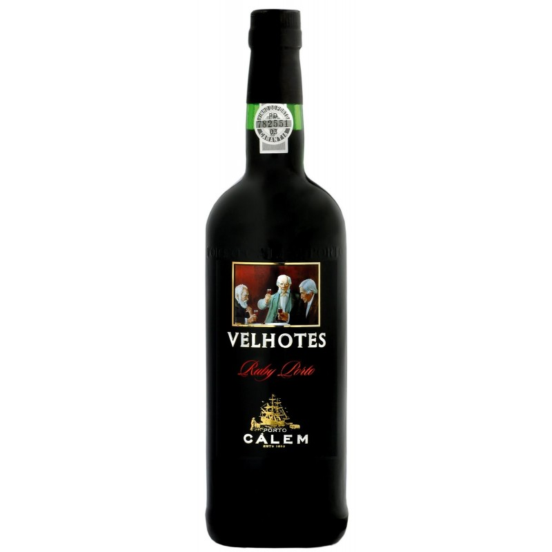 Calem Velhotes Ruby Port Wine