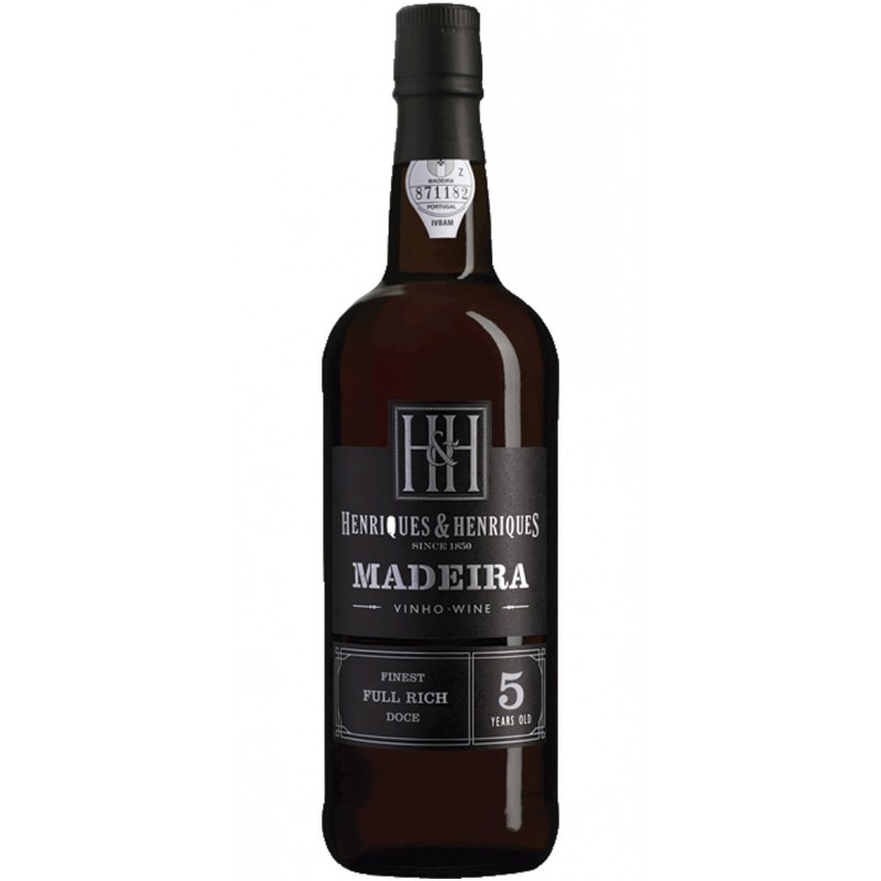 Henriques Henriques Finest Full Rich 5 Years Old Madeira Wine