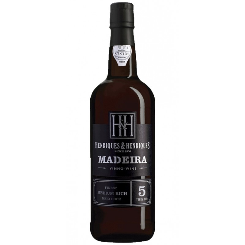 Henriques Henriques Finest Medium Rich 5 Year Old Madeira Wine