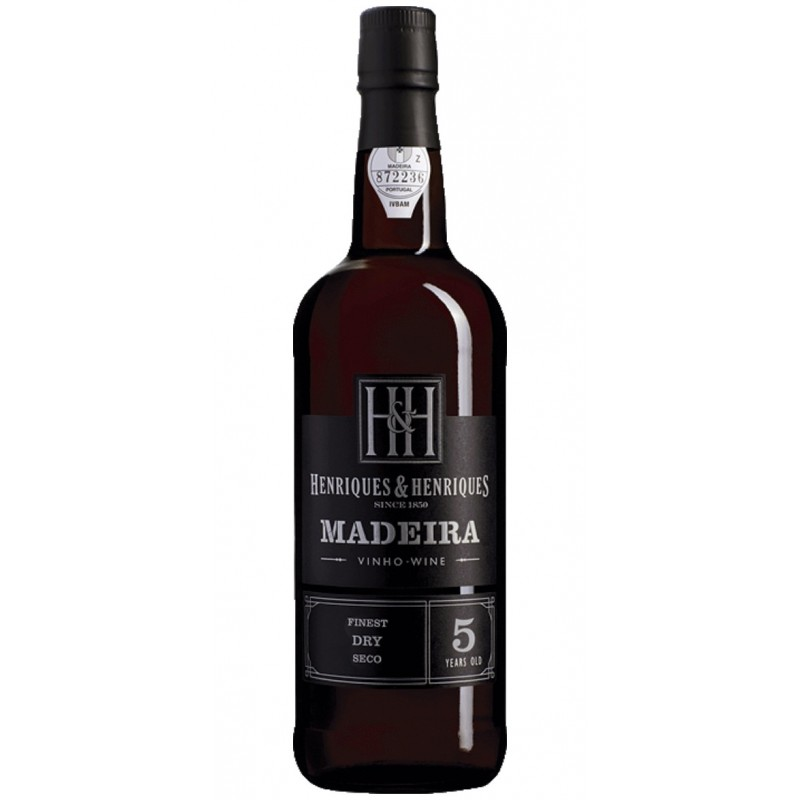 Henriques Henriques Dry 5 Years Old Madeira Wine