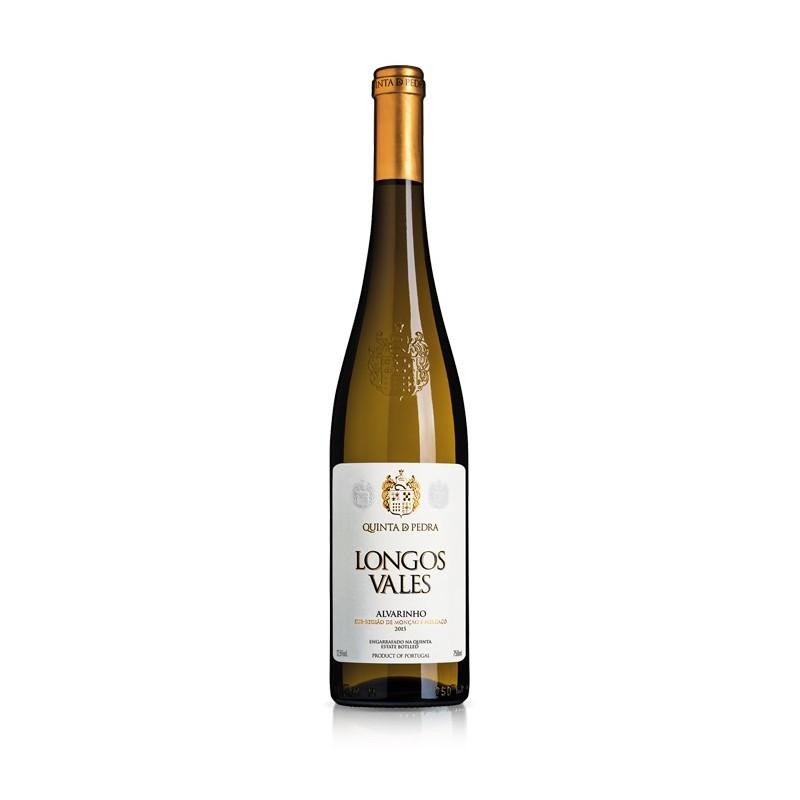Longos Vales Alvarinho 2015 White Wine