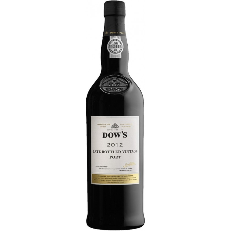 Dow's LBV 2012 Port Wine