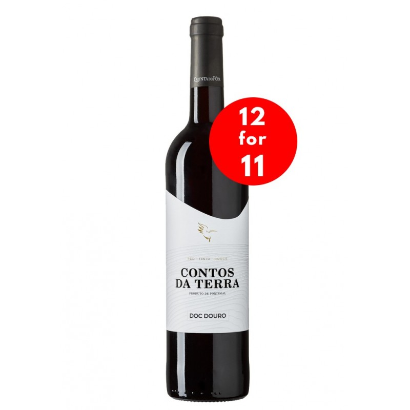 Contos da Terra 2016 Red Wine (12 for 11)