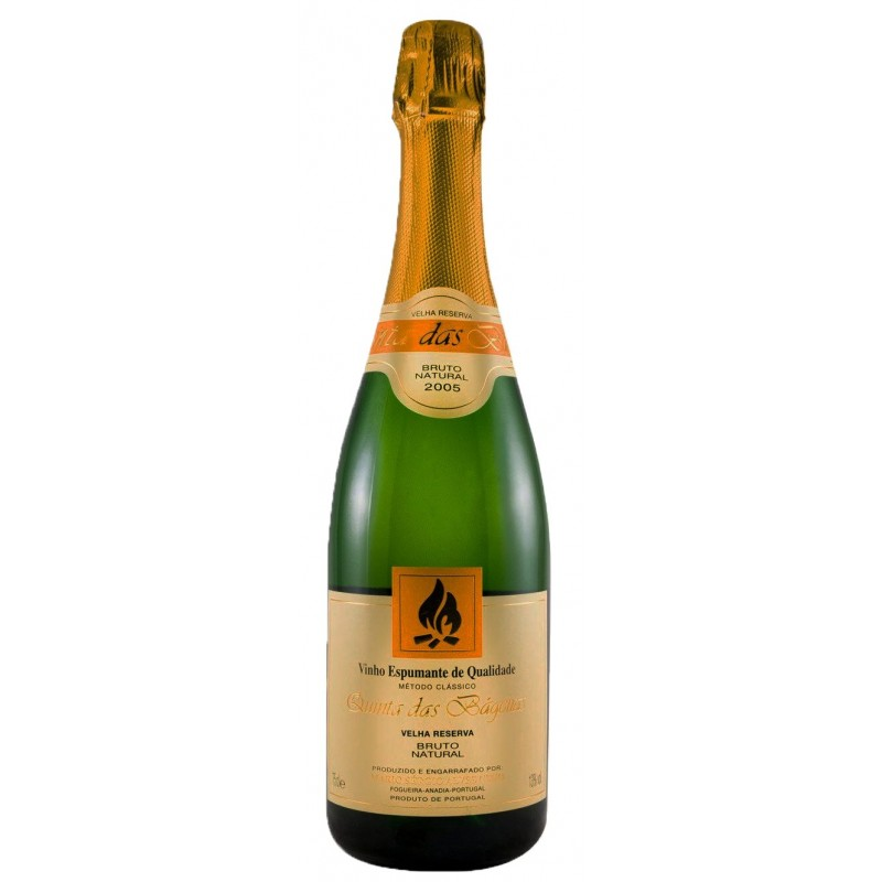 Quinta das Bágeiras Velha Reserva Bruto Sparkling White Wine