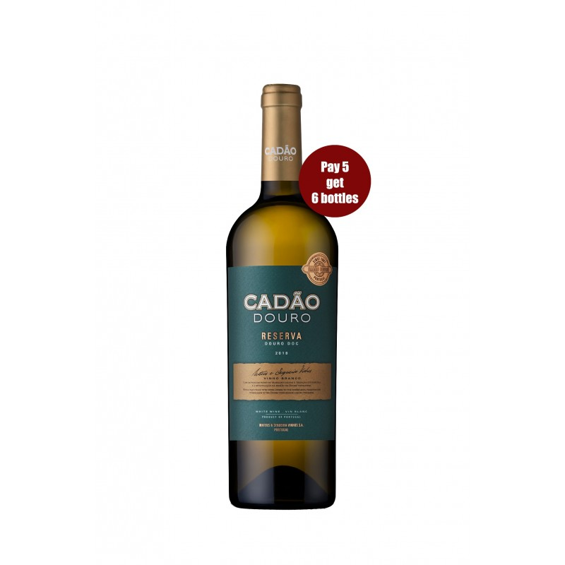 Promotion Cadão Reserva 2018 White Wine (6 for the price of 5 bottles)