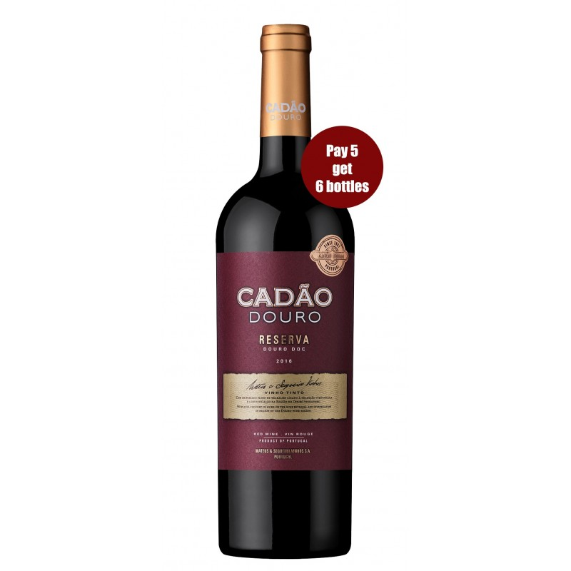Promotion Cadão Reserva 2016 Red Wine (6 for the price of 5 bottles)