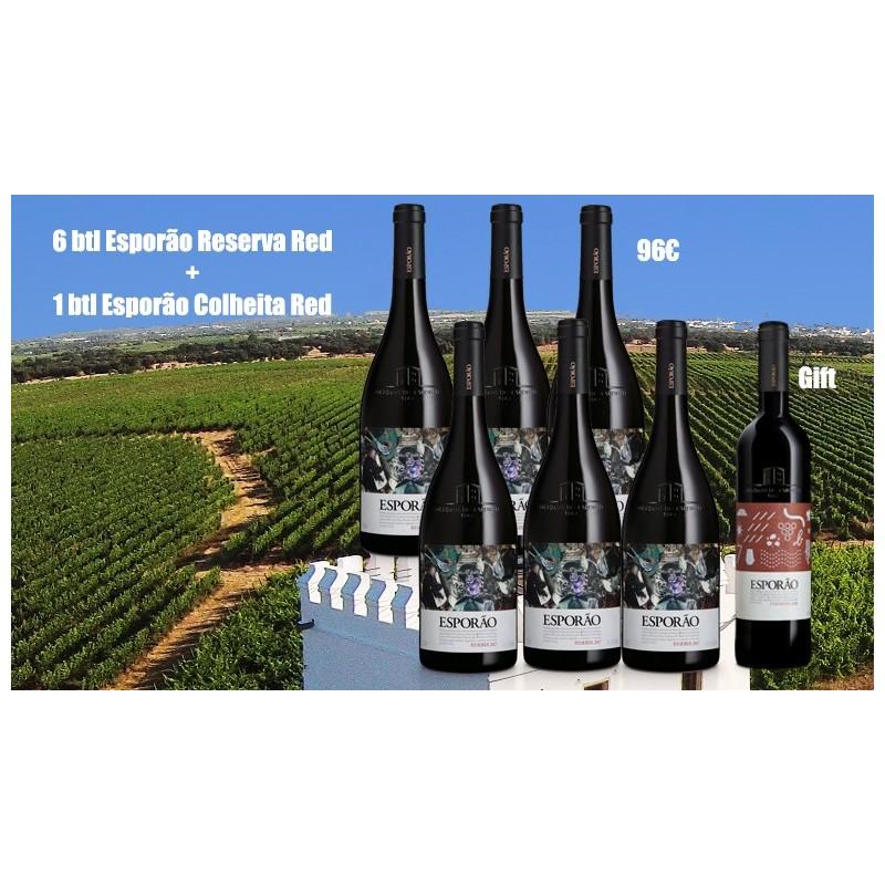 Promotion Herdade do Esporão Reserva Red Wine + Colheita Red Wine
