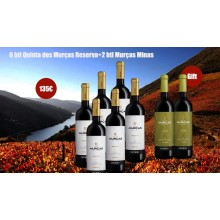 Promotion Quinta dos Murças Reserva Red Wine + Minas Red Wine