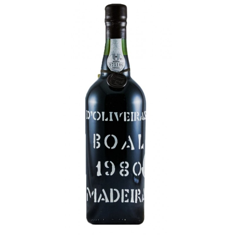 D'Oliveiras Boal 1980 Medium Sweet Madeira Wine