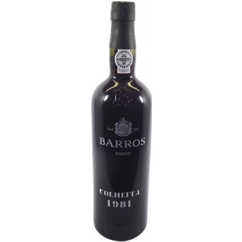 Barros Colheita 1981 Port Wine