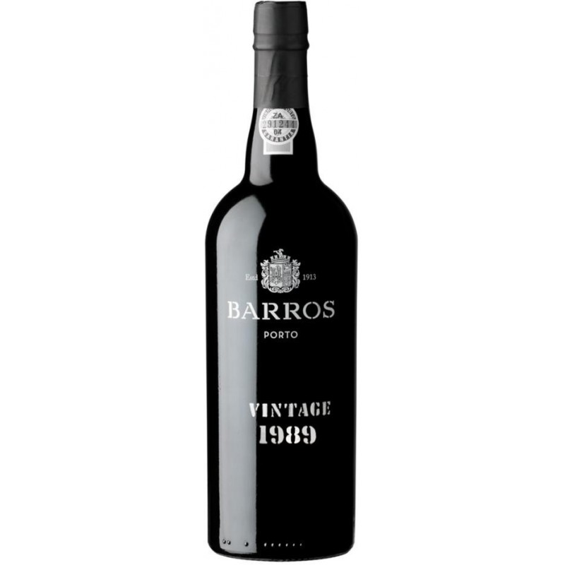 Barros Vintage 1989 Port Wine