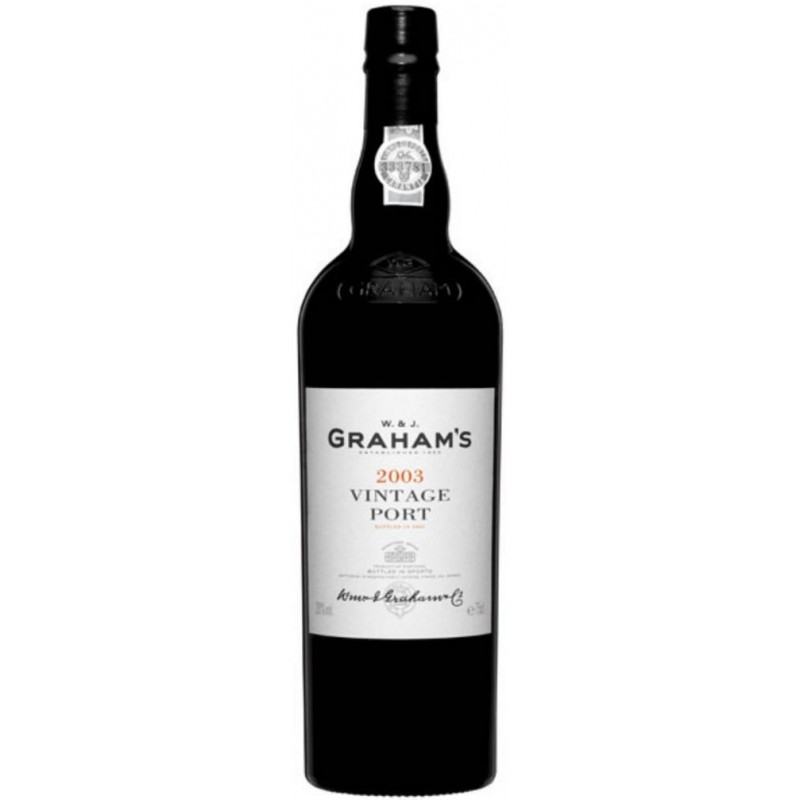 Graham's Vintage 2003 Port Wine
