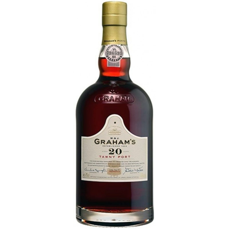 Graham's 20 Years Old Port Wine