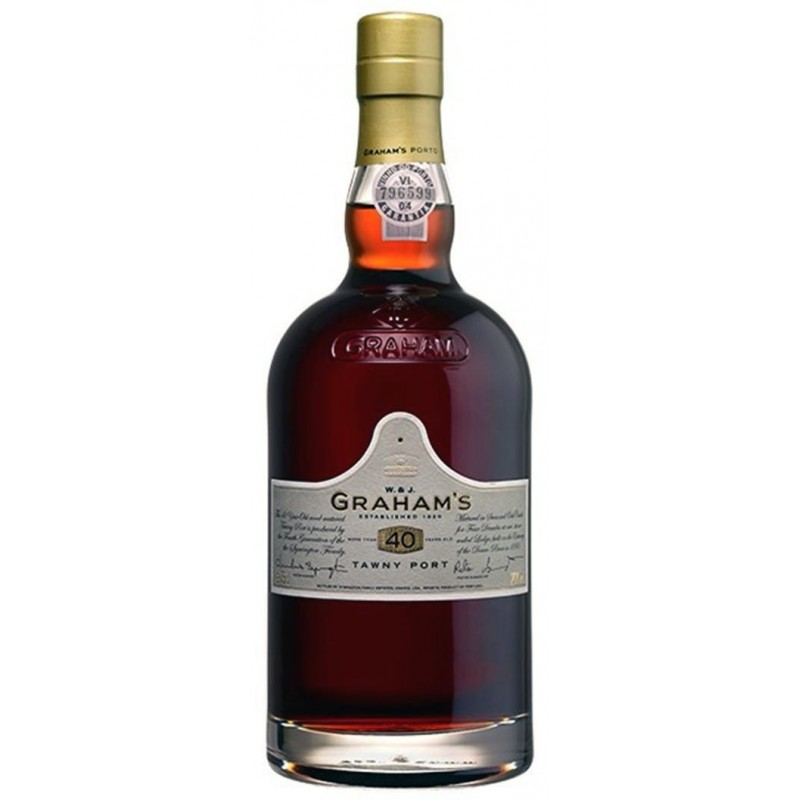 Graham's 40 Years Old Port Wine