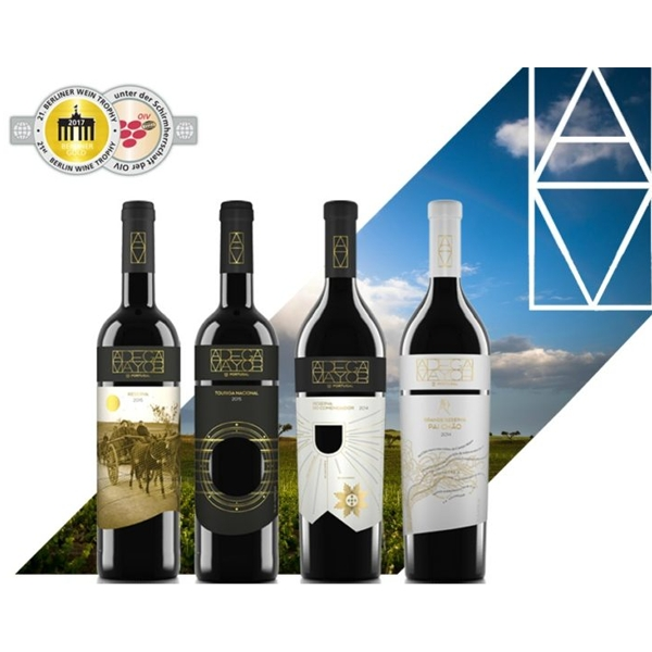 Adega Mayor received four gold medals at the Berlin Wine Trophy
