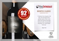 Montes Claros Garrafeira Red 2014 got 92 points on the north american magazine Wine Enthusiast!