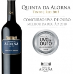 Quinta da Alorna red was considered the best wine in the Ribatejo region!