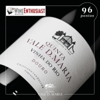 Quinta Vale D. Maria Vinha do Rio Douro Red received 96 points