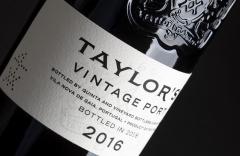 Taylor's Vintage 2016 with maximum score!