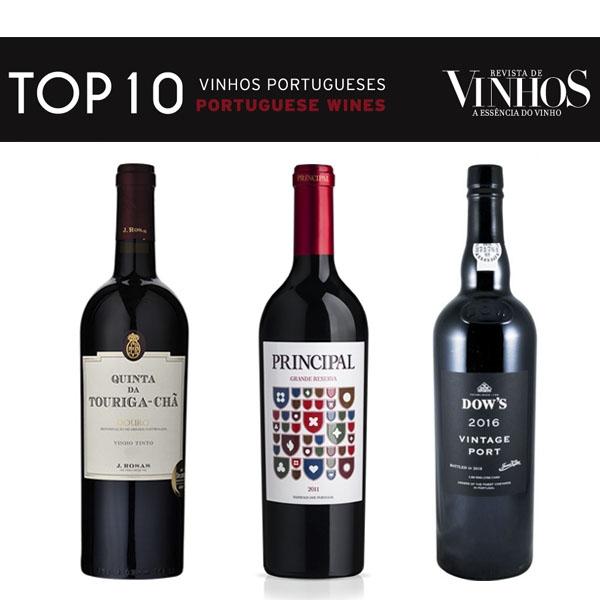 The TOP 10 PORTUGUESE WINES is already known by the Revista de Vinhos!